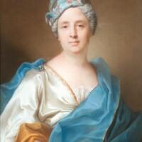 23. joseph vivien | portrait of madeleine-geneviève dupuis (c. 1675 - p. 1759)