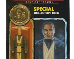 41. star wars power of the force anakin skywalker '92-back' action figure, 1985