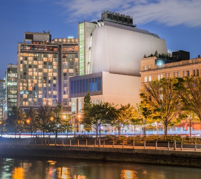 Whitney Museum Exterior