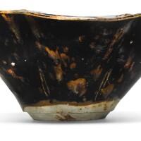 201. a 'jizhou' 'tortoiseshell' lobed bowl 13th century |