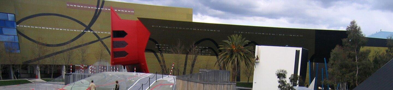 Exterior view of National Museum of Australia