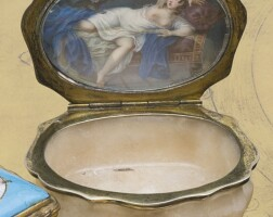 29. germany, mid-18th century, snuff box