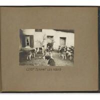 37. [france—travel and sporting photography]— anne de rochechouart de mortemart, duchess ofuzès