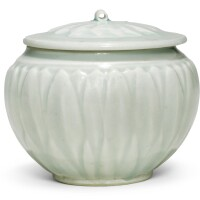 209. a 'qingbai' 'lotus' jar and cover song dynasty |