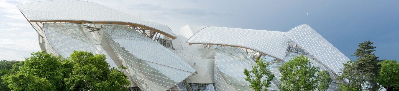 Exterior View, Fondation Louis Vuitton