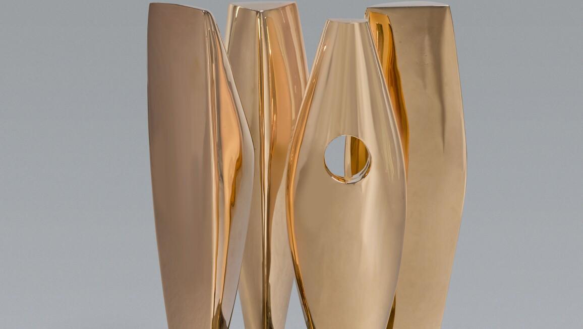 Dame Barbara Hepworth, Four Figures Waiting. Estimate £350,000–450,000.