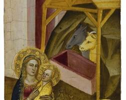 8. 阿什莫林祭壇座畫畫師 | 《耶穌降生》