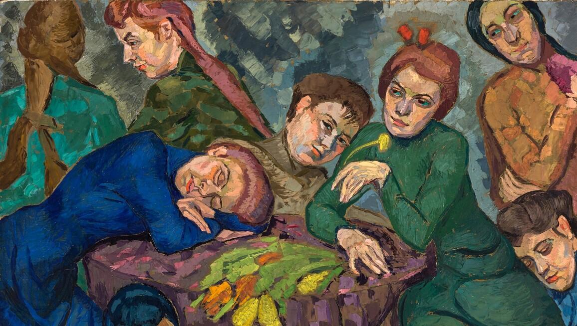Helene Funke, Dreams, 1913