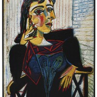 125. vik muniz   dora maar seated, after picasso from pictures of pigment