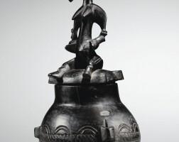 28. réceptacle, sénufo, côte d'ivoire