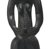 45. guro female figure, ivory coast