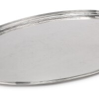 24. a george iii silver two-handled tray, t. & j. guest and joseph cradock, london, 1806