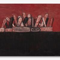 24. 菲利普・加斯頓 | 《紅色天空》