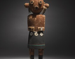 12. a hopi polychromed wood kachina figure |