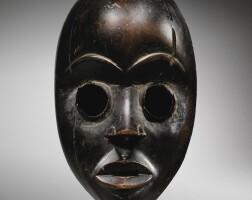 22. masque, dan, côte d'ivoire |