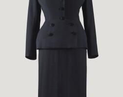 6. balenciaga haute couture, 1950
