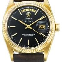 12. 勞力士(rolex) | 1803型號「day date」黃金腕錶,年份約1974。