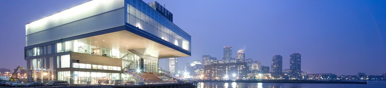 Exterior View, Institute of Contemporary Art, Boston