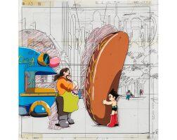 1007. astro boy by mushi production | astroy boy animation cel