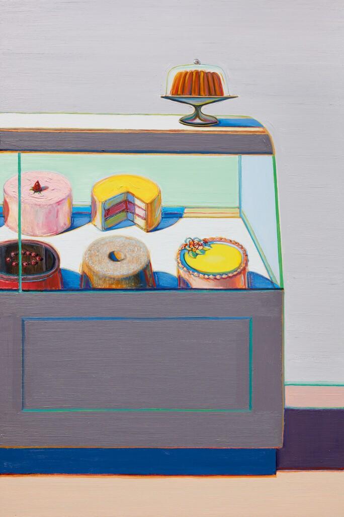 The Sweet Splendor of Wayne Thiebaud's Encased Cakes | Sotheby's Magazine |  Sotheby's