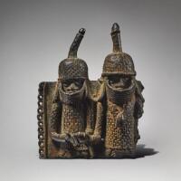 17. edo pendant plaque, benin kingdom, nigeria