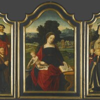 4. the master of the female half-lengths active in antwerp during the first half of the 16th century and bartholomäus bruyn the elder wesel or cologne 1493–1555 cologne