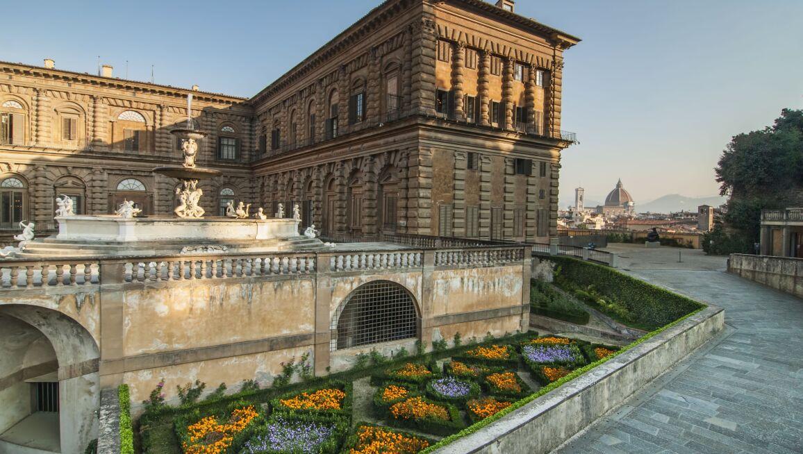 Interior View, Pitti Palace Museum