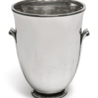 7. a danish silver wine cooler, no. 725b, georg jensen silversmithy, copenhagen, circa 1933-44