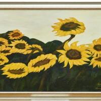 741. liu haiming three oil paintings