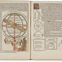 5. johannes de sacrobosco. sphaera mundi. venice: guilelmus anima mia, tridinensis, 14 january, 1491