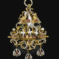 10. southern german, circa 1630-1640 | pendant with the pelican in her piety