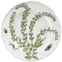 10. a chelsea porcelain 'hans sloane' botanical plate circa 1755