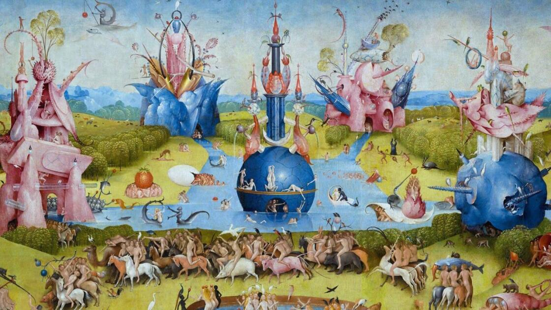 Garden of Earthly Delights Hieronymus Bosch