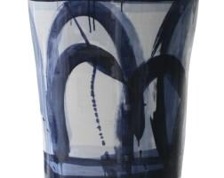85. felicity aylieff | blue mountains - lidded vase