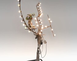 144. jean tinguely | untitled (lamp)