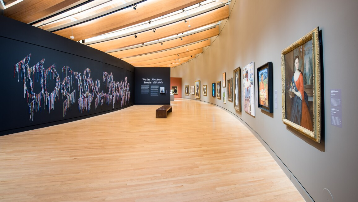 Interior View, Crystal Bridges Museum of American Art