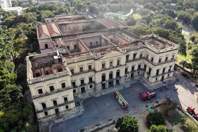 The National Museum in Rio de Janeiro
