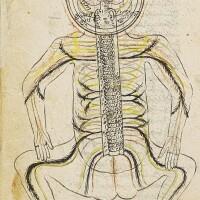 35. mansur ibn muhammad ibn ahmad ibn yusuf ibn faqir ilyas (fl. first half 15th century), al-tashrih bi'l-tasvir (anatomy with illustrations), also known as tashrih-i mansuri, persia, late timurid/early safavid, late 15th/early 16th century  