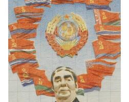 8. erik bulatov | brezhnev, soviet cosmos