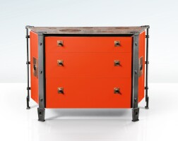 17. andré dubreuil   pair of chest of drawers