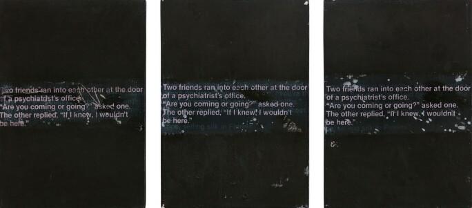 10496, Richard Prince, 3 Jokes Painted to Death or 3 Jokes Really Painted.jpg