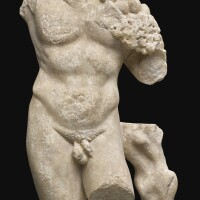 38. a roman marble torso of silvanus, circa 2nd century a.d.   a roman marble torso of silvanus