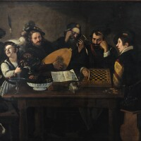 190. Follower of Michelangelo Merisi called Caravaggio