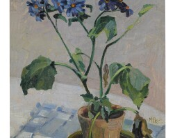 7. richard edward miller | tabletop still life with daisies