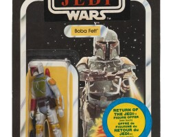 8. canadian star wars return of the jedi transition action figure, 1983