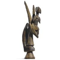3. a rare bamana chiwara antelope, mali
