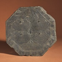 6. a slate sundial with jewish hours, france, circa 1700 |