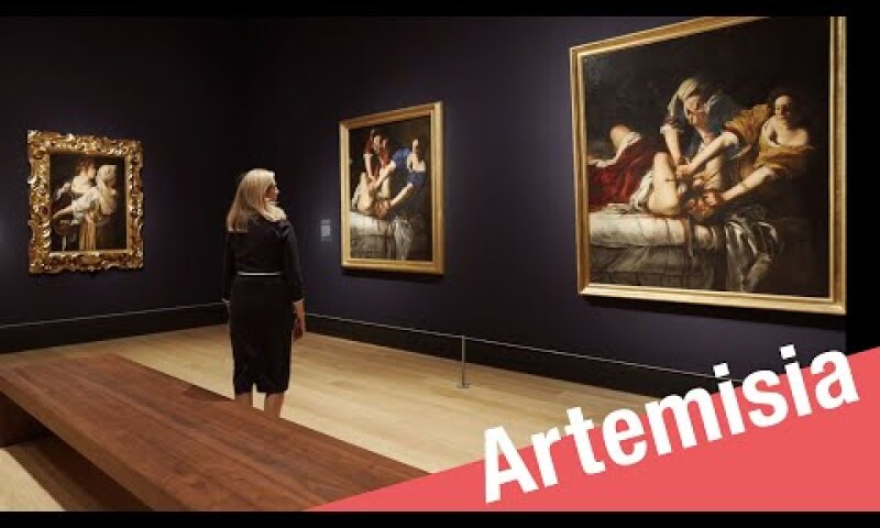 Artemisia exhibition tour for Sotheby's | National Gallery