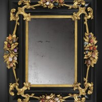 8. an italian gilt-bronze-mounted pietre dure and ebony frame, galleria dei lavori, florence late 17th/ early 18th century