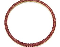 1622. 紅寶石項鏈